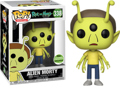Rick and Morty - Alien Morty ECCC 2018 US Exclusive Pop! Vinyl Figure