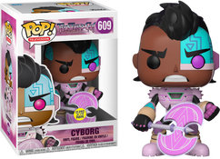 Teen Titans Go!: The Night Begins to Shine - Cyborg with Axe Glow US Exclusive Pop! Vinyl Figure