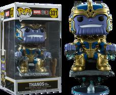 "Marvel Studios: The First Ten Years - Thanos on Throne 8"" Deluxe US Exclusive Pop! Vinyl Figure"