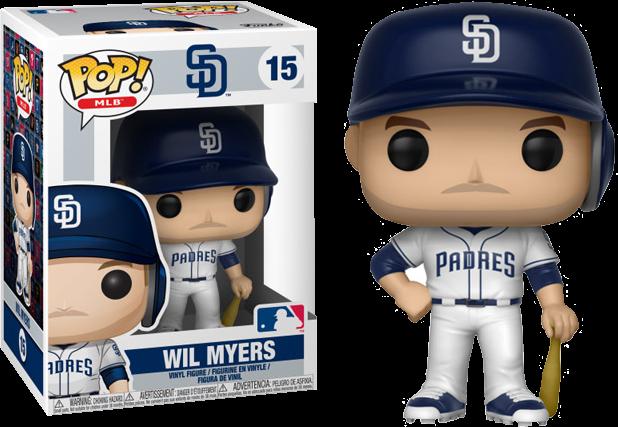 a4ec3d63e83 MLB Baseball - Wil Myers Pop! Vinyl Figure
