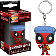 Deadpool - Deadpool Bathtime Pop! Vinyl Keychain