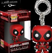 Deadpool - Deadpool with Swords Pop! Vinyl Keychain