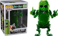 Rick and Morty - Pickle Rick Translucent US Exclusive Pop! Vinyl Figure