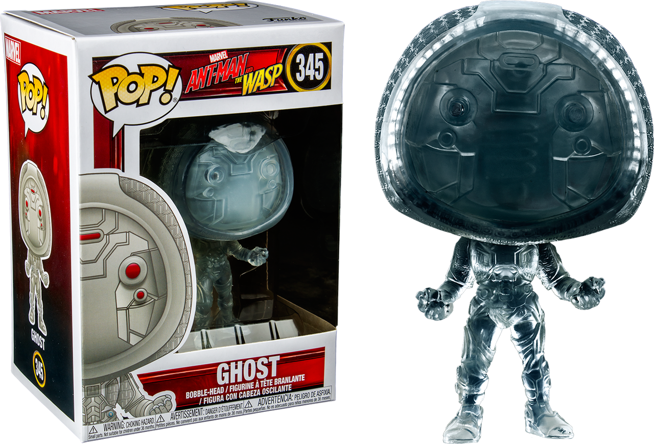Ant-Man and the Wasp - Ghost Translucent US Exclusive Pop! Vinyl Figure eafb037bd65a