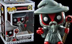 Deadpool - Wizard Deadpool US Exclusive Pop! Vinyl Figure