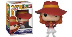 Where In The World Is Carmen Sandiego? - Carmen Sandiego Fade US Exclusive Pop! Vinyl Figure