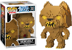 Altered Beast - Werewolf Gold 8-Bit US Exclusive Pop! Vinyl Figure