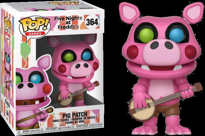 Freddy Fazbear S Pizzeria Simulator Pig Patch Pop Vinyl