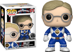 Power Rangers - Billy Pop! Vinyl Figure