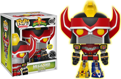 "Power Rangers - Megazord 6"" Super Sized Glow in the Dark US Exclusive Pop! Vinyl Figure"