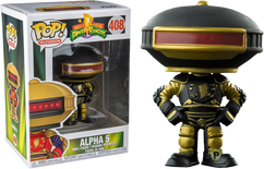 Power Rangers - Alpha 5 Black & Gold US Exclusive Pop! Vinyl Figure