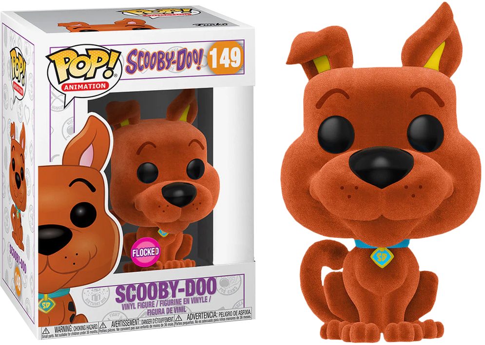 92275d0e52 ... Scooby Doo Orange Flocked US Exclusive Pop! Vinyl Figure. Image 1
