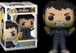 Avengers 3: Infinity War - Bruce Banner with Hulk Head Pop! Vinyl Figure
