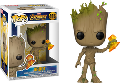 Avengers 3: Infinity War - Groot with Stormbreaker Pop! Vinyl Figure