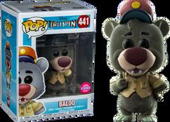TaleSpin - Baloo Flocked US Exclusive Pop! Vinyl Figure