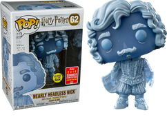 Harry Potter - Nearly Headless Nick Glow SDCC18 Pop! Vinyl Figure