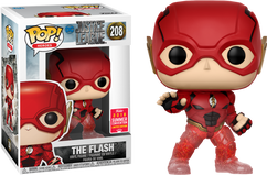 Justice League - The Flash Running Translucent SDCC18 Pop! Vinyl Figure