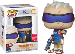 Overwatch - Grillmaster Soldier: 76 SDCC18 Pop! Vinyl Figure