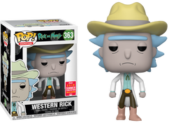 Rick and Morty - Western Rick SDCC18 Pop! Vinyl Figure