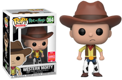 Rick and Morty - Western Morty SDCC18 Pop! Vinyl Figure