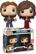 Stranger Things - Billy & Karen SDCC18 Pop! Vinyl Figure 2-Pack