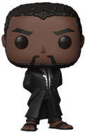 Black Panther (2018) - Black Panther in Black Robe US Exclusive Pop! Vinyl Figure