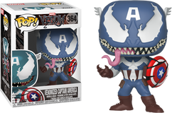 Venom - Venomized Captain America Pop! Vinyl Figure