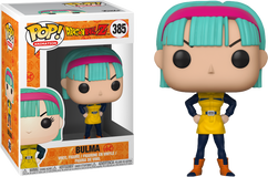 Dragon Ball Z - Bulma in Yellow Outfit Pop! Vinyl Figure