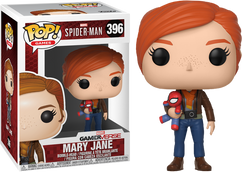 Marvel's Spider-Man (2018) - Mary Jane wIth Plush Pop! Vinyl Figure