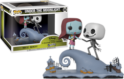 The Nightmare Before Christmas - Jack and Sally Under The Moonlight Movie Moments Pop! Vinyl Figure 2-Pack