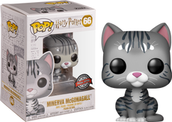 Harry Potter - Professor McGonagall as Cat US Exclusive Pop! Vinyl Figure