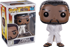 Black Panther (2018) - Black Panther in White Robe Pop! Vinyl Figure