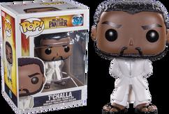 Black Panther (2018) - Black Panther in White Robe Pop! Vinyl Figure