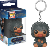Fantastic Beasts 2: The Crimes of Grindelwald - Baby Niffler Black Pocket Pop! Vinyl Keychain