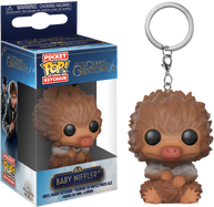 Fantastic Beasts 2: The Crimes of Grindelwald - Baby Niffler Tan Pocket Pop! Vinyl Keychain