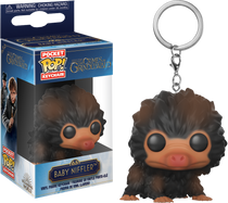 Fantastic Beasts 2: The Crimes of Grindelwald - Baby Niffler Brown Pocket Pop! Vinyl Keychain