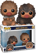 Fantastic Beasts 2: The Crimes Of Grindelwald - Baby Nifflers Brown and Tan Pop! Vinyl Figure 2-Pack