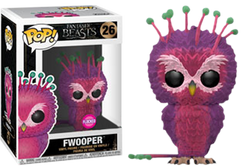 Fantastic Beasts 2: The Crimes of Grindelwald - Fwooper Flocked US Exclusive Pop! Vinyl Figure