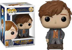 Fantastic Beasts 2: The Crimes Of Grindelwald - Newt Scamander in Suitcase US Exclusive Pop! Vinyl Figure