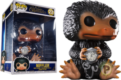 "Fantastic Beasts 2: The Crimes of Grindelwald - Niffler 10"" US Exclusive Pop! Vinyl Figure"