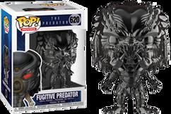 The Predator (2018) - Fugitive Predator Chrome Pop! Vinyl Figure