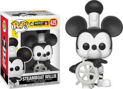 Disney - Steamboat Willie 90th Anniversary Pop! Vinyl Figure