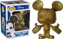 Disney - Mickey Mouse Gold Diamond Glitter US Exclusive Pop! Vinyl Figure