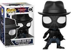 Spider-Man: Into The Spider-Verse - Spider-Man Noir with Hat Pop! Vinyl Figure