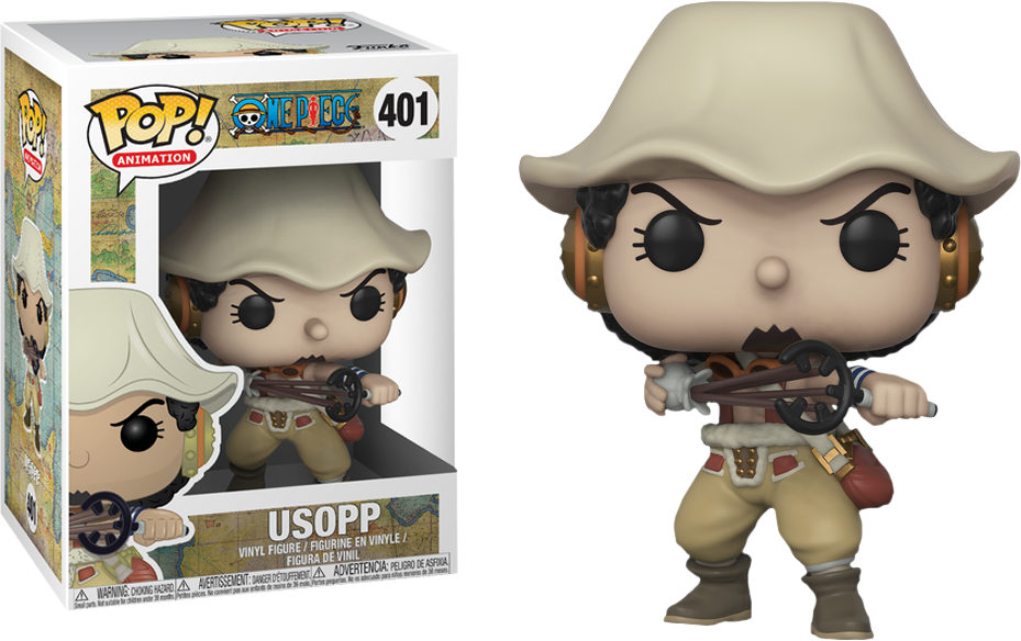 27bf3688d4d ... One Piece - Usopp Pop! Vinyl Figure. Image 1
