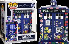 "Doctor Who - Clara Memorial TARDIS 6"" Super Sized Pop! Vinyl Figure"