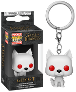 Game of Thrones - Ghost Pocket Pop! Vinyl Keychain