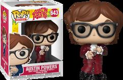 Austin Powers - Austin in Red Suit US Exclusive Pop! Vinyl Figure