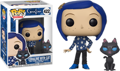 Coraline - Coraline with Cat Pop! Vinyl Figure