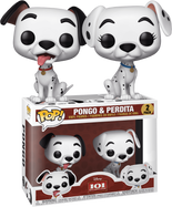 101 Dalmatians - Pongo & Perdita US Exclusive Pop! Vinyl Figure 2-Pack